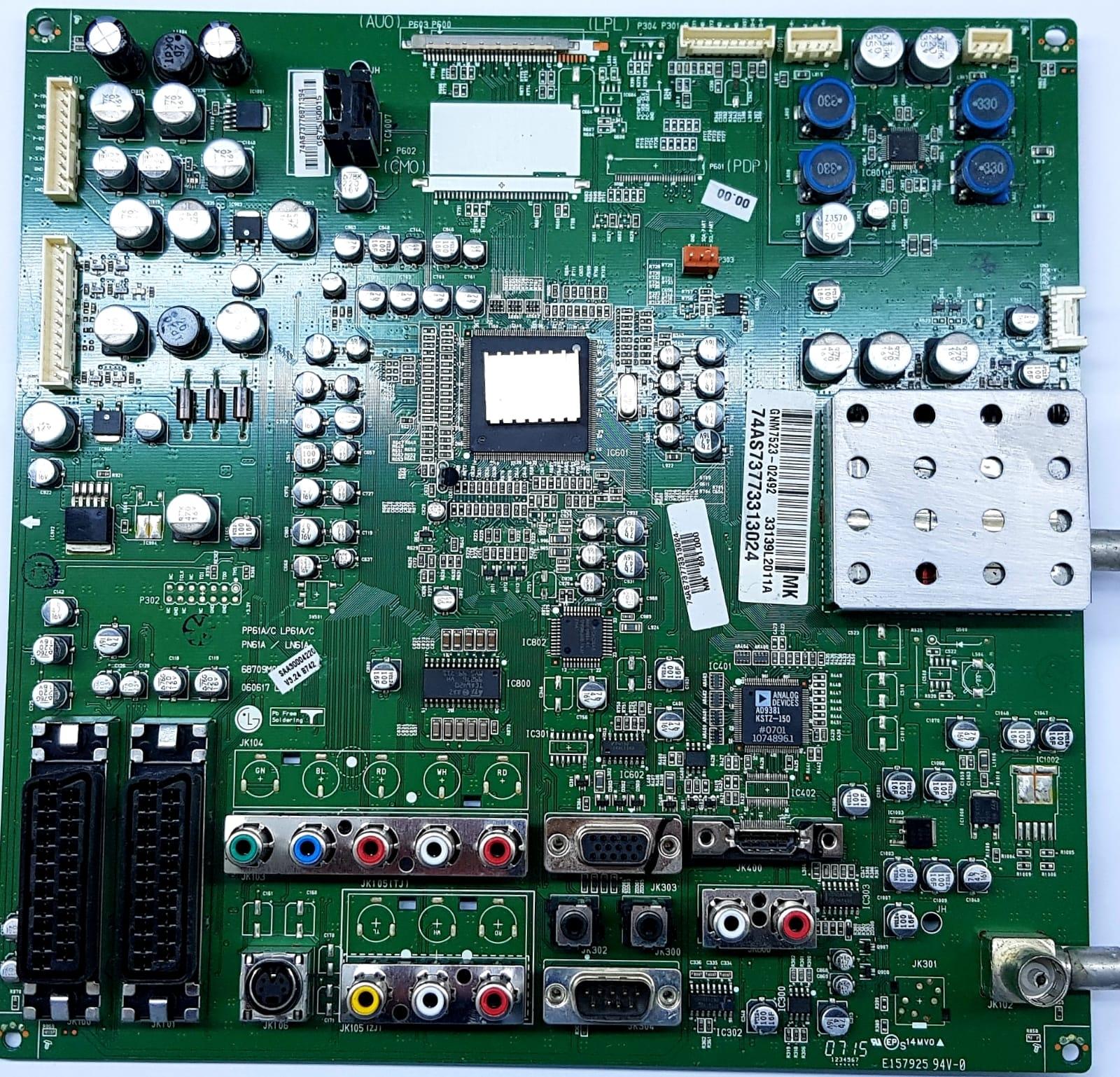 33139L2011 , A , GNM7523-02492 , LG , LG32LC2R , Main Board , Ana Kart