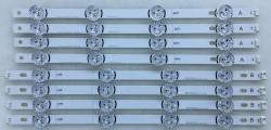 LG - LG , LC420DUH FG P2 , LC420DUH FG A2 , 42LB652V , 42LB630V , 6916L-1709C , 6916L-1710C , Direct 3.0_42inch_rev7 , 8 ADET LED ÇUBUK