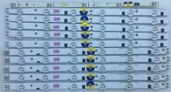 SAMSUNG - SAMSUNG , DE390BGA-C1 , UE39EH5003 , D1GE-390SCA-R1 , 39-3535LED-60EA-L , D1GE-390SCB-R1 , 39-3535LED-60EA-R , 10 ADET LED ÇUBUK