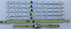 VESTEL - VESTEL , VES390UNDC-01 , 39182 SATELLITE , VESTEL REV0.2 , C TYPE , 5 ADET LED ÇUBUK