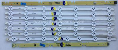VESTEL , VES490UNDL-2D-N01 , HI-LEVEL , 49HL600 , 49DLED_A-TYPE_REV00 , 7 ADET LED ÇUBUK